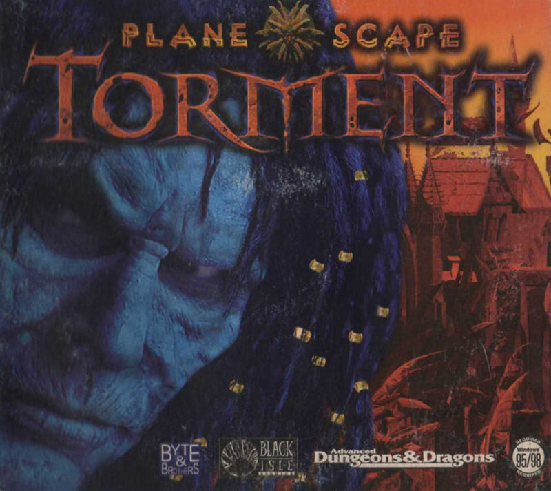 Planescape: Torment Windows Other Disc Holder - Front