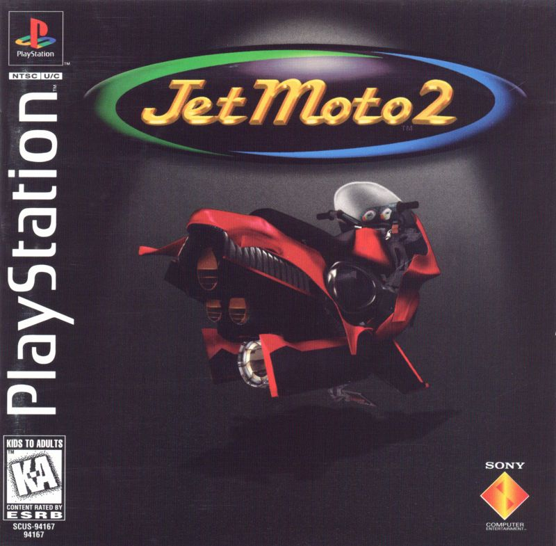 Jet Moto 2 PlayStation Front Cover