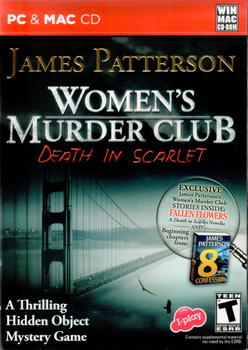 Women's Murder Club: Death in Scarlet Macintosh Front Cover