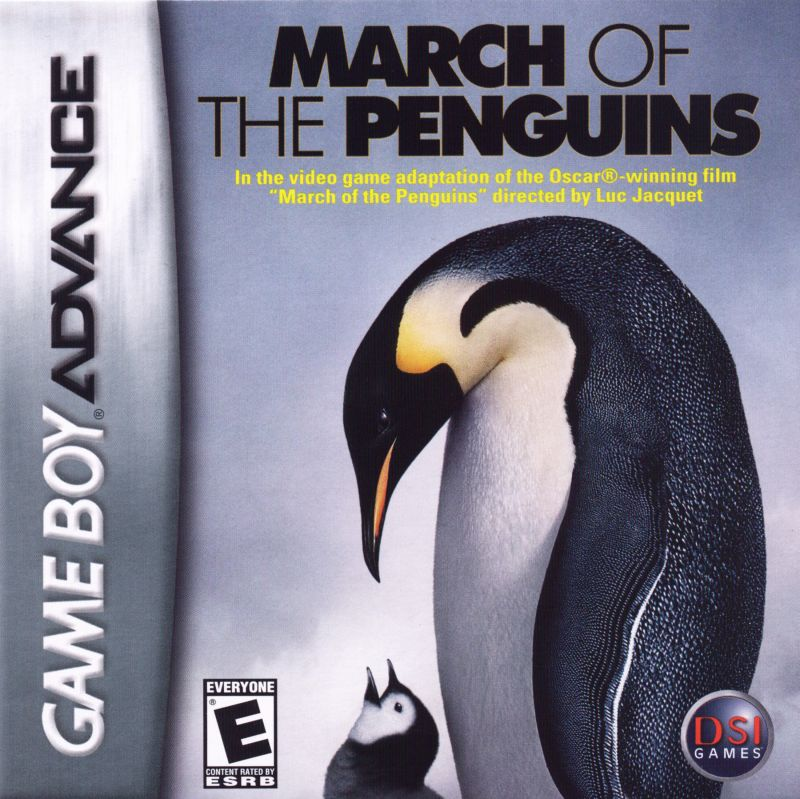 March of the Penguins Game Boy Advance Front Cover