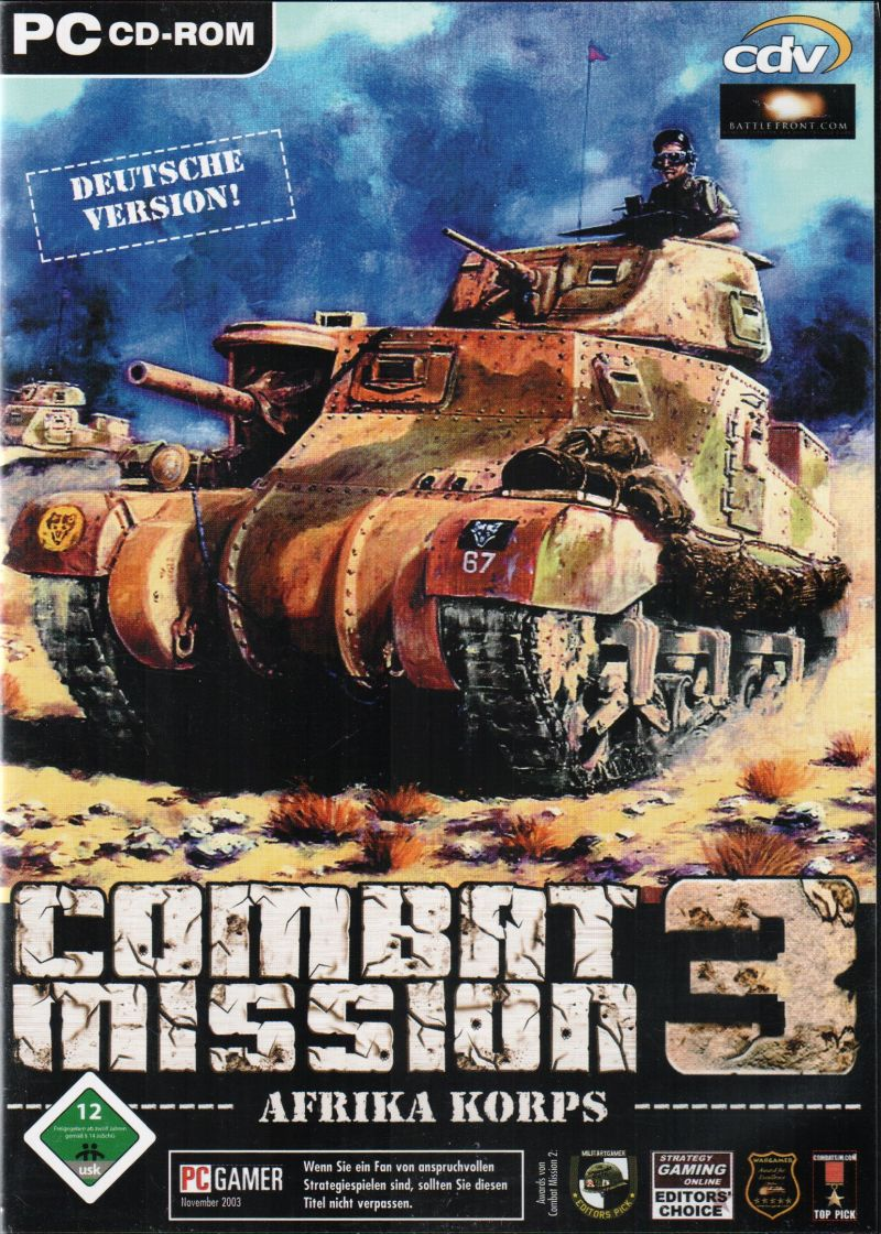 Combat Mission 3: Afrika Korps Windows Front Cover