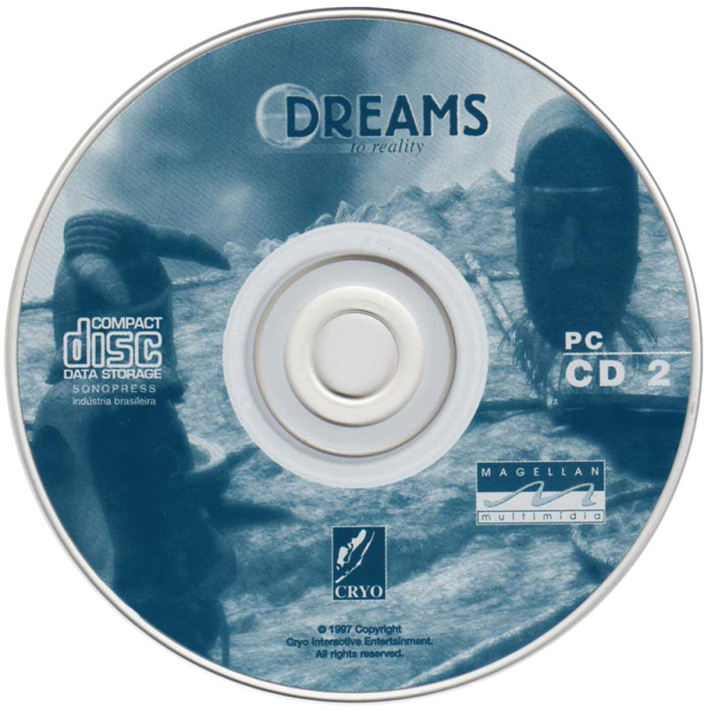 DREAMS to Reality DOS Media Disc 2