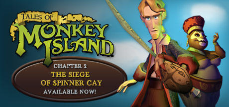 Tales of Monkey Island: Chapter 2 - The Siege of Spinner Cay Windows Front Cover