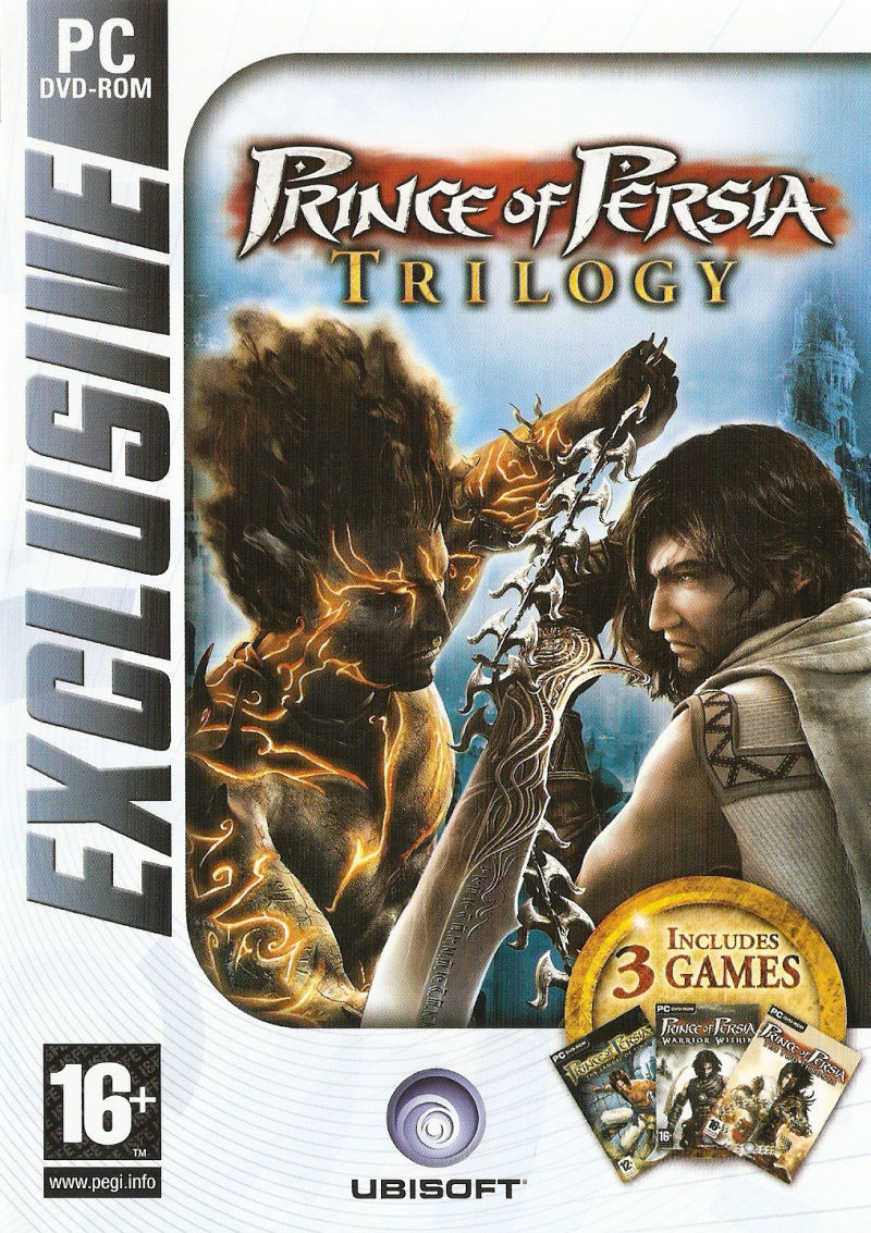 Prince of Persia Trilogy Windows Front Cover