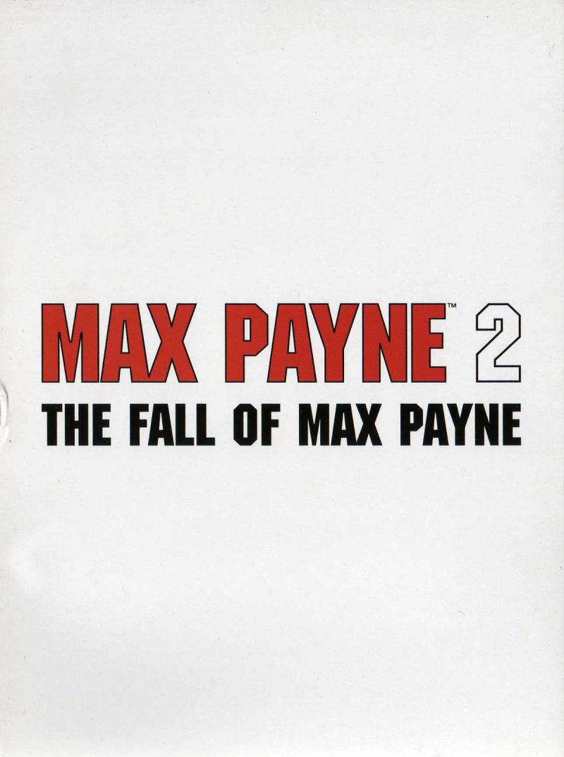 Max Payne 2: The Fall of Max Payne Windows Other Digipak - Reverse Front