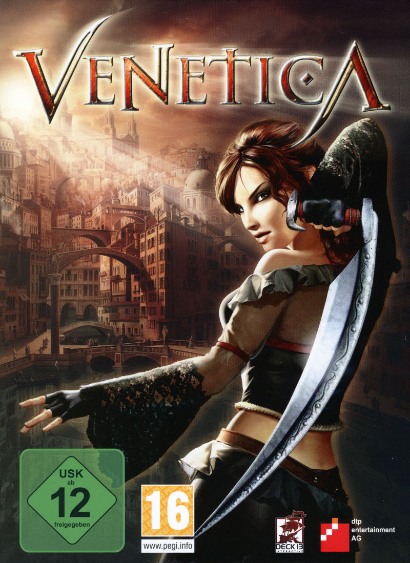 Venetica Windows Front Cover