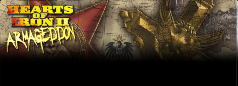 Hearts of Iron II: Doomsday - Armageddon  Windows Front Cover