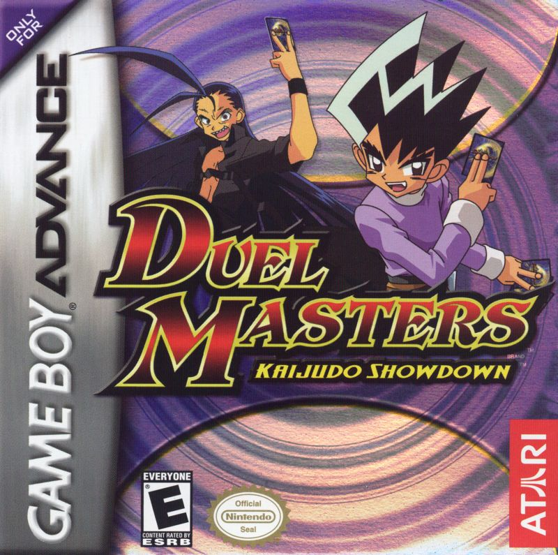 Duel Masters Kaijudo Showdown Game Boy Advance Front Cover