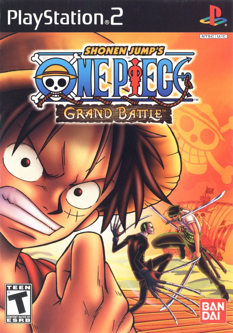 One Piece: Grand Battle PlayStation 2 Front Cover