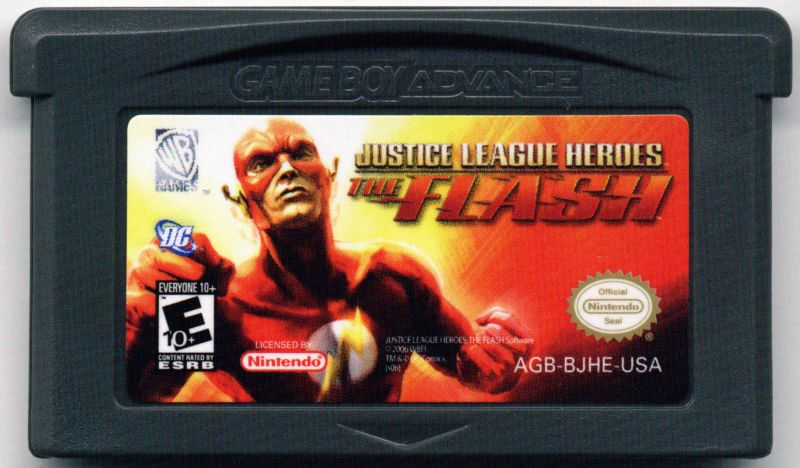 Justice League Heroes: The Flash Game Boy Advance Media