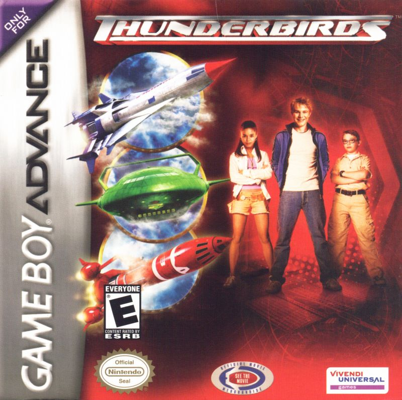Thunderbirds Game Boy Advance Front Cover