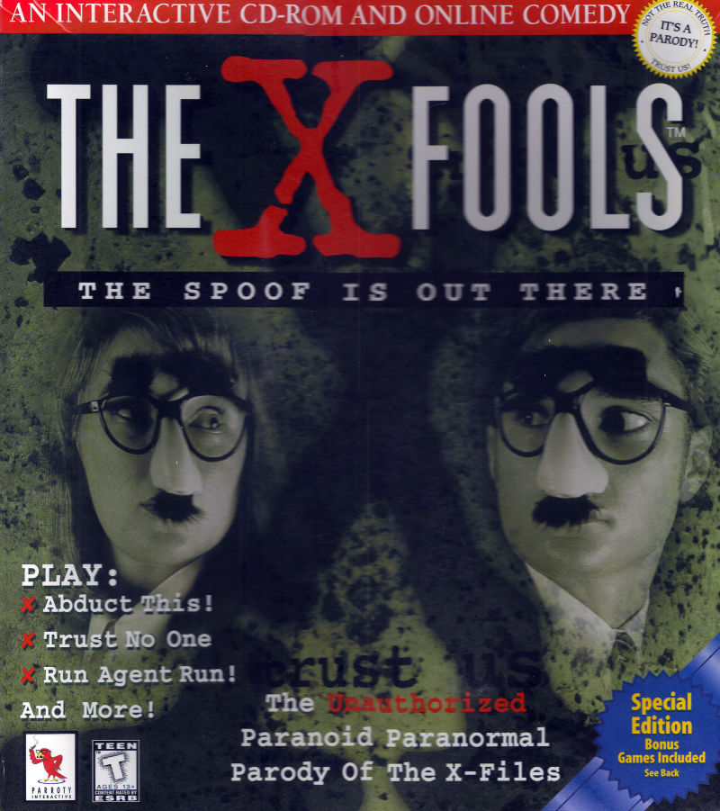 The X-Fools: The Spoof is out There Macintosh Front Cover