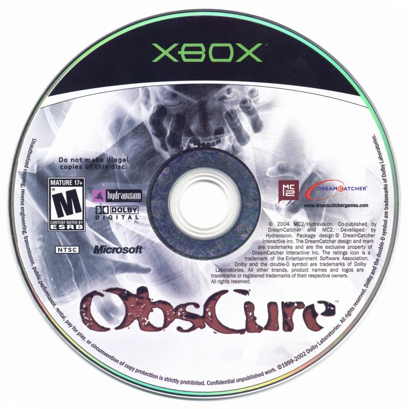 ObsCure Xbox Media