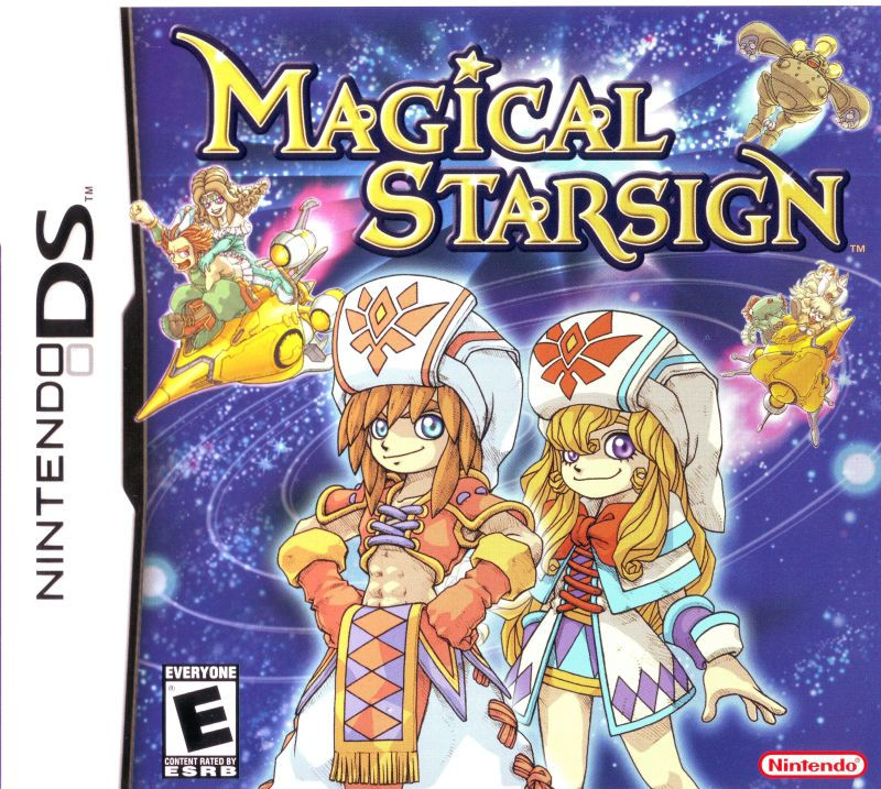 Magical Starsign Nintendo DS Front Cover