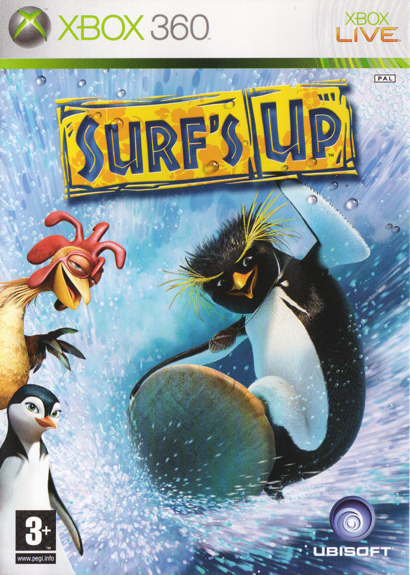 Surf's Up Xbox 360 Front Cover