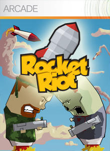 Rocket Riot Xbox 360 Front Cover