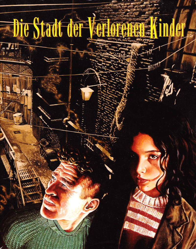 The City of Lost Children DOS Front Cover