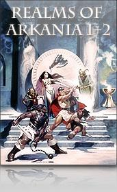 Realms of Arkania: Blade of Destiny + Star Trail Windows Front Cover