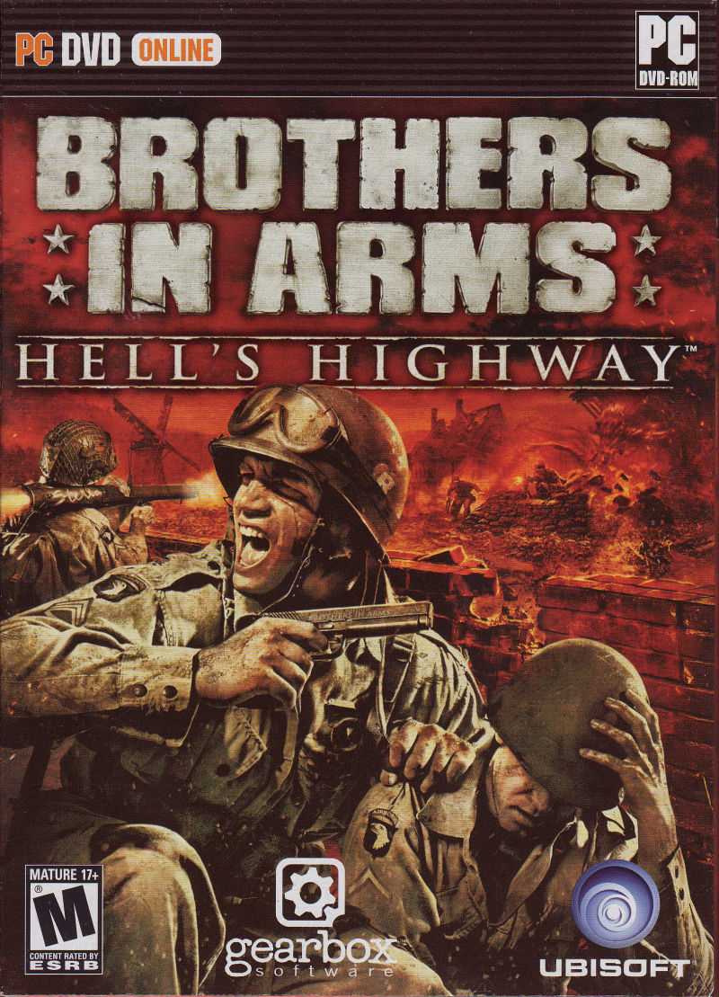 Brothers in Arms: Hell's Highway Windows Front Cover