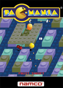 Pac-Mania Zeebo Front Cover