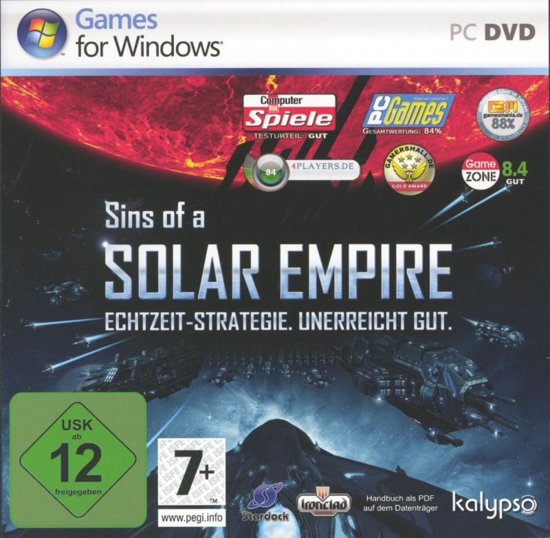 Sins of a Solar Empire Windows Front Cover