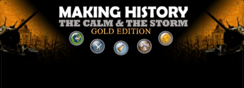 Making History: The Calm & The Storm - Gold Edition Windows Front Cover