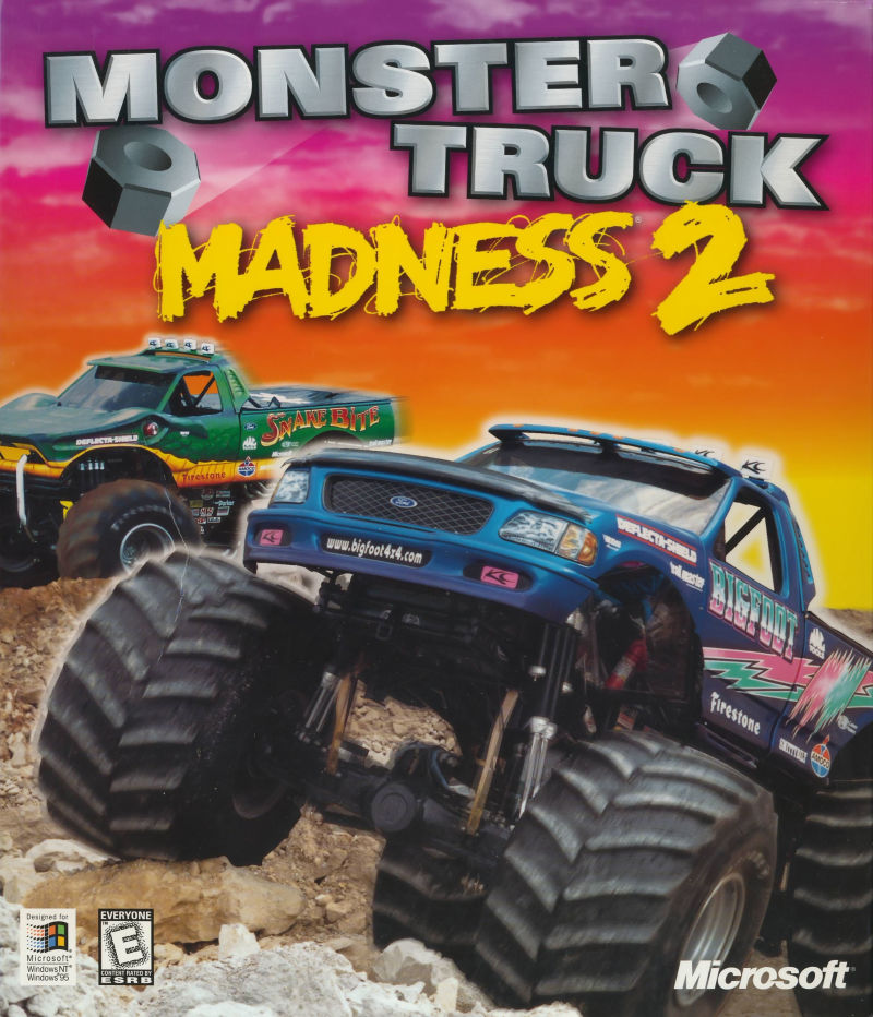 Monster Truck Madness 2 Windows Front Cover