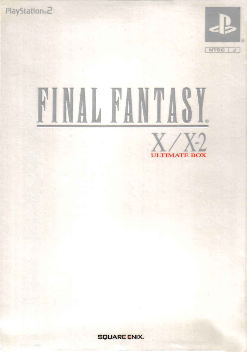 Final Fantasy X/X-2 Ultimate Box PlayStation 2 Front Cover