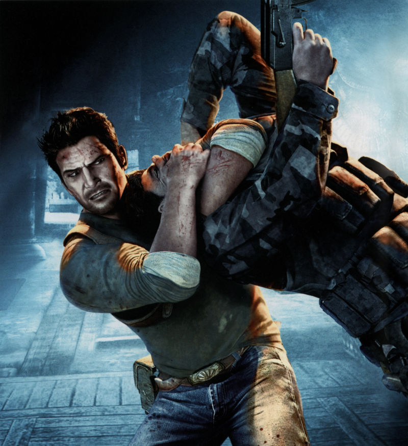 Uncharted 2: Among Thieves PlayStation 3 Inside Cover Left Inlay