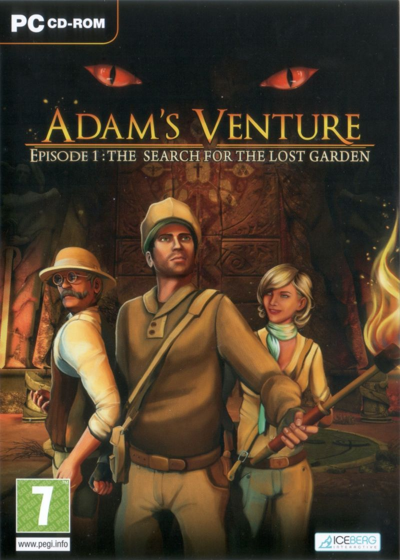 Adam's Venture: Episode 1 - The Search for the Lost Garden Windows Front Cover
