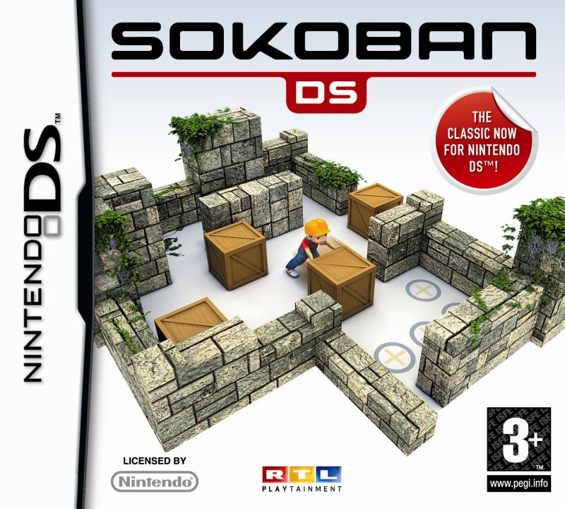 Sokoban DS Nintendo DS Front Cover