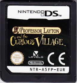 Professor Layton and the Curious Village Nintendo DS Media