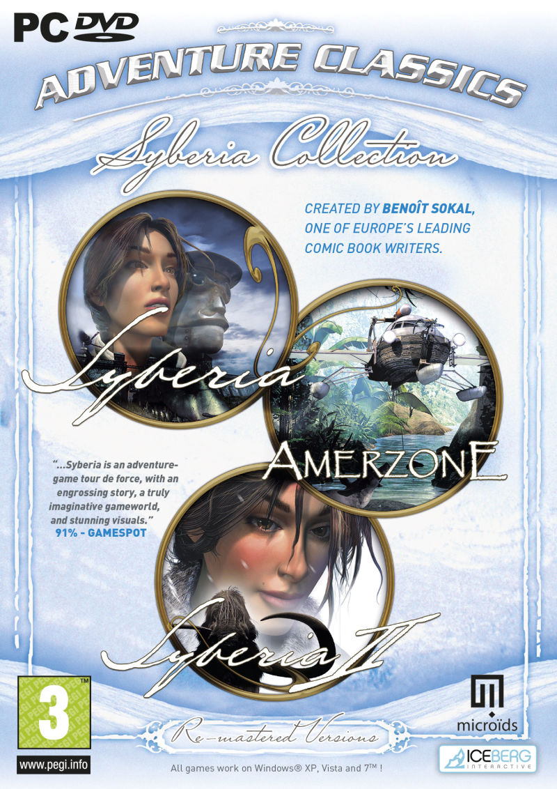 Syberia Collection Windows Front Cover