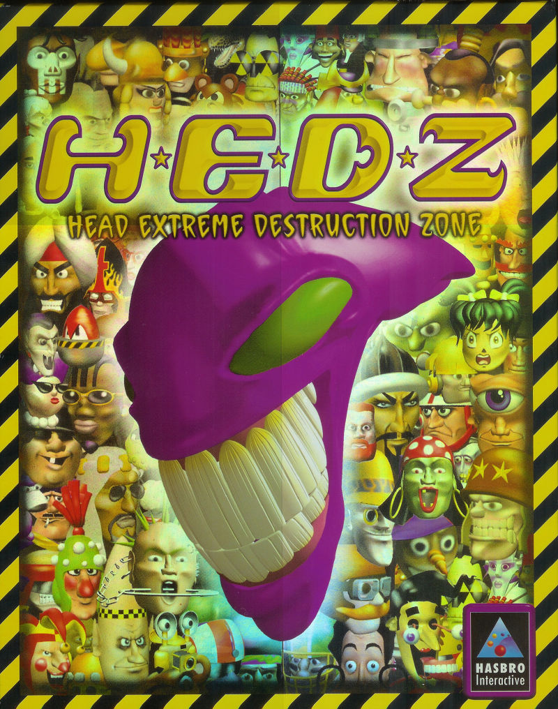 H.E.D.Z.: Head Extreme Destruction Zone Windows Front Cover