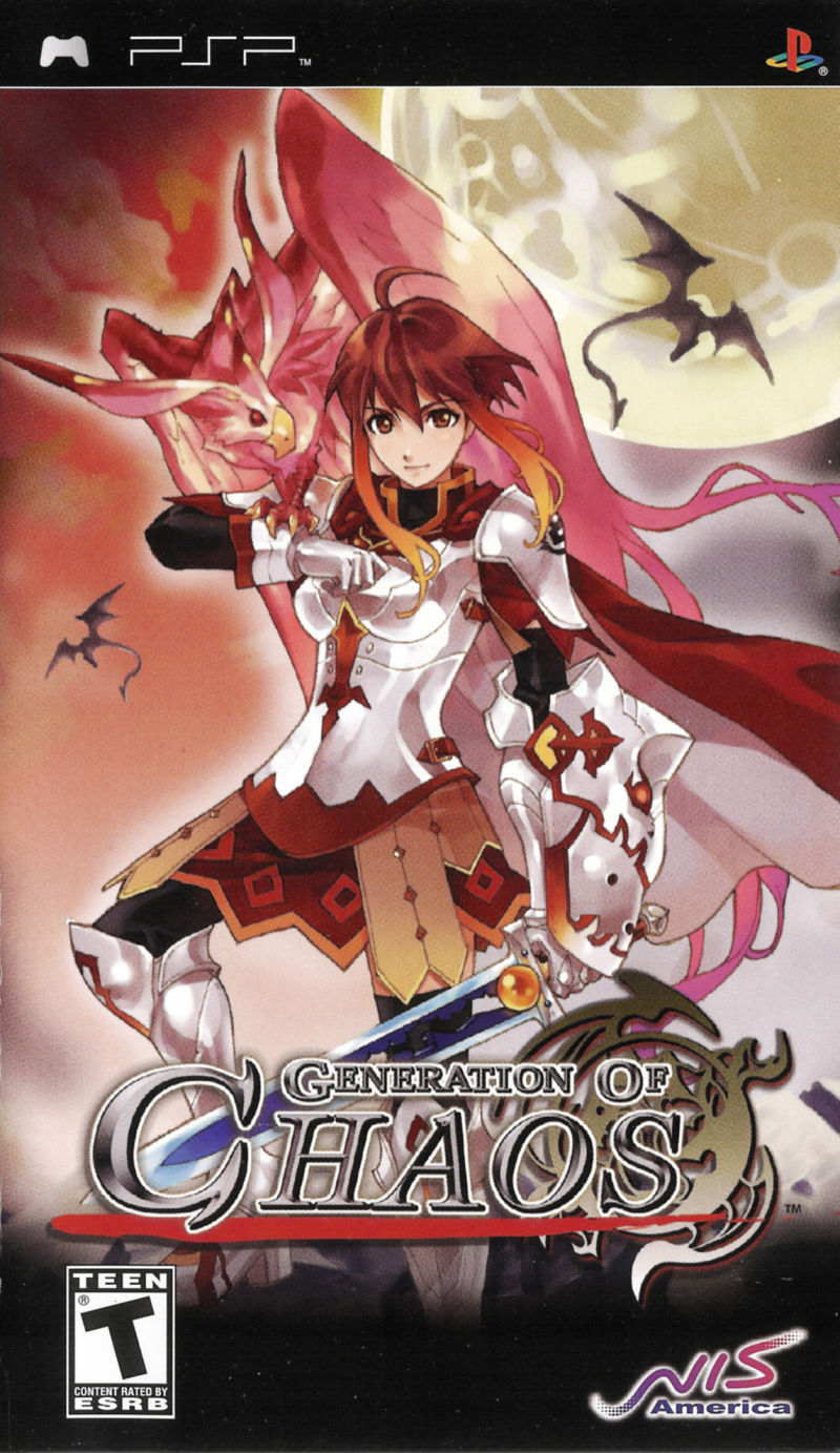 Generation of Chaos PSP Front Cover