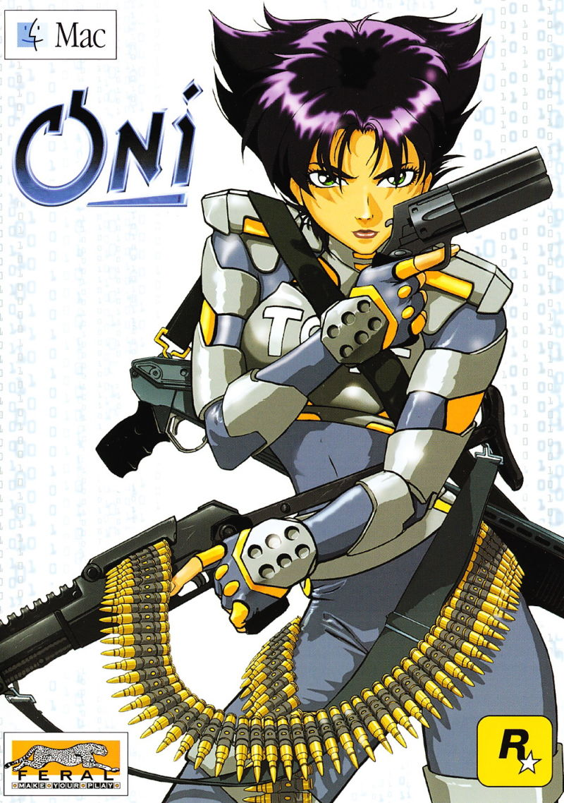Oni Macintosh Front Cover