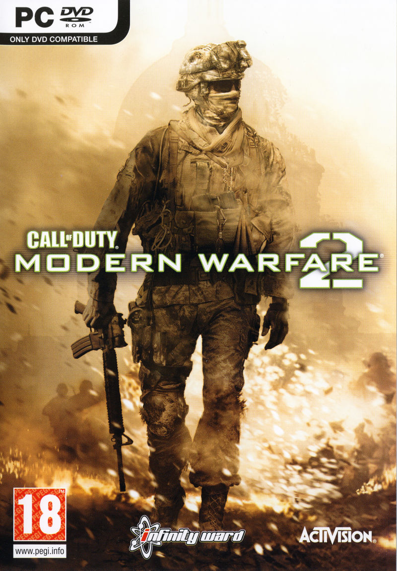 Call of Duty: Modern Warfare 2 Windows Front Cover