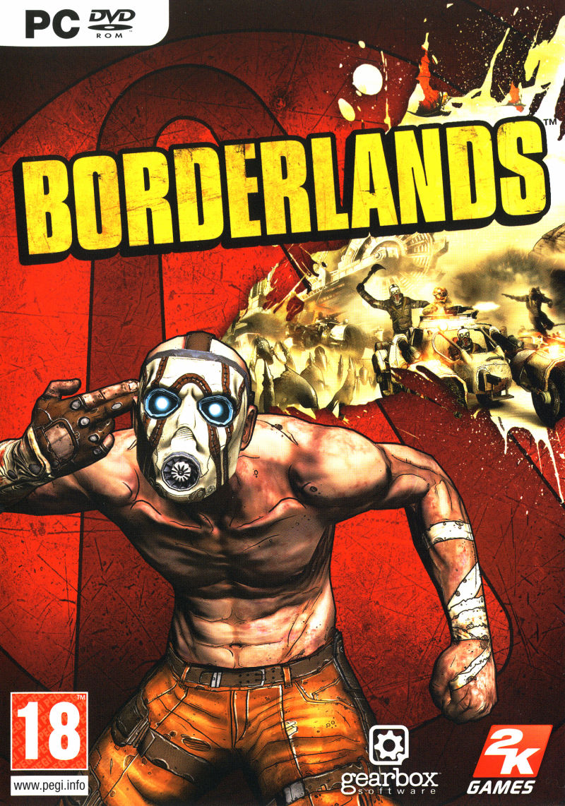 Borderlands Windows Other Keep Case - Front
