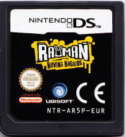 Rayman Raving Rabbids Nintendo DS Media