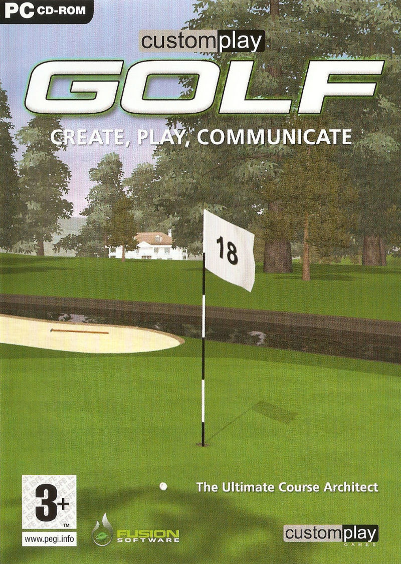 CustomPlay Golf Windows Front Cover
