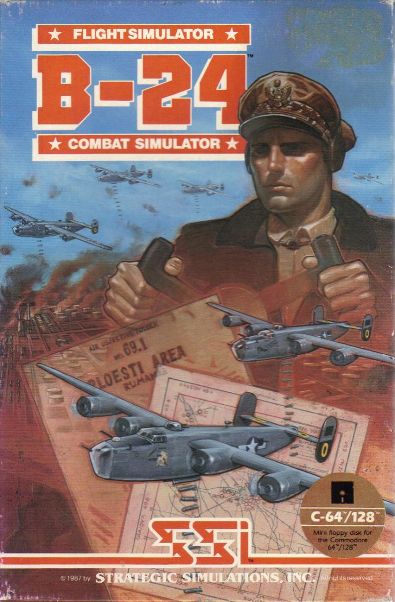 B-24 Commodore 64 Front Cover