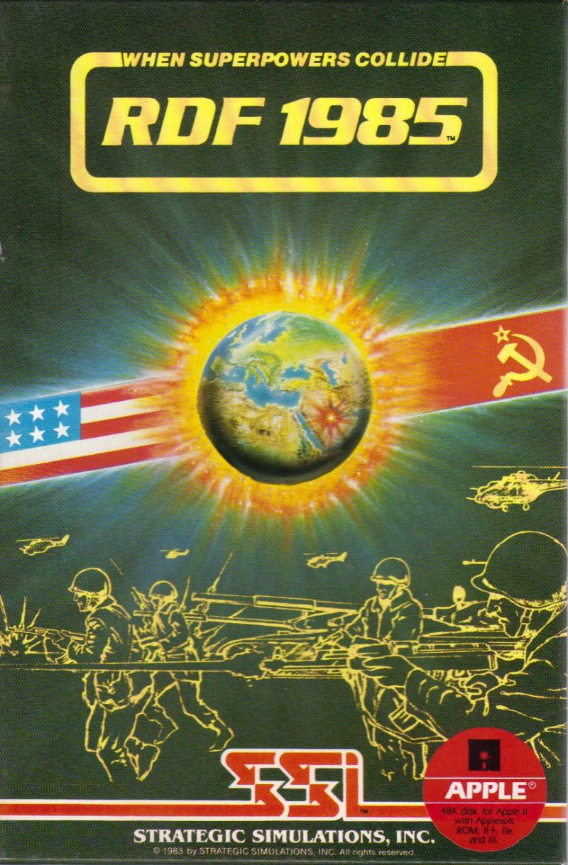 RDF 1985 Apple II Front Cover