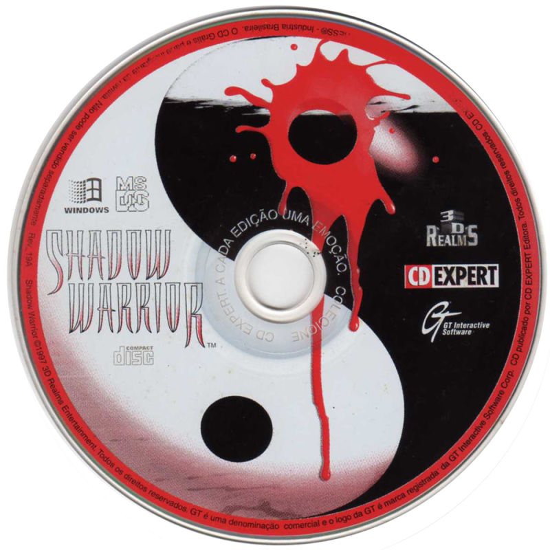 Shadow Warrior DOS Media