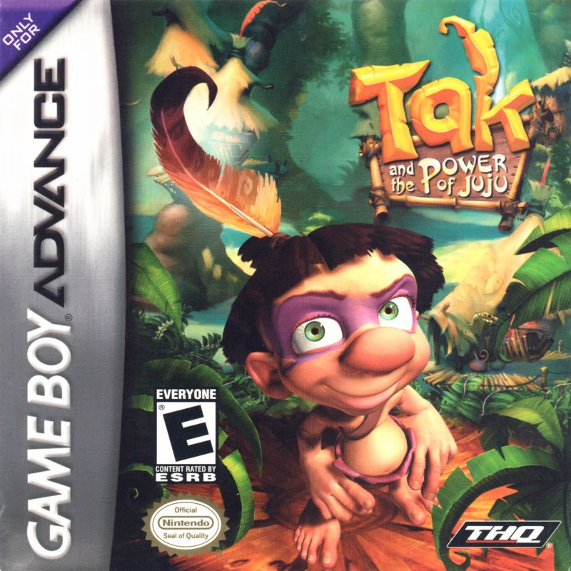 Tak and the Power of Juju Game Boy Advance Front Cover