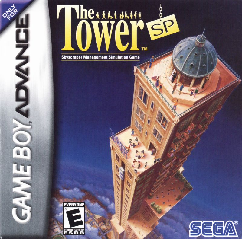 The Tower SP Game Boy Advance Front Cover
