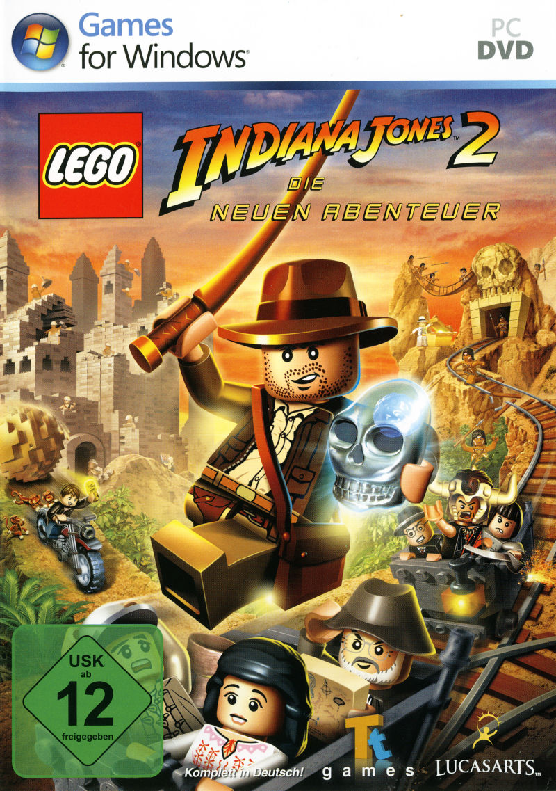 LEGO Indiana Jones 2: The Adventure Continues  Windows Front Cover