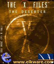 The X-Files: The Deserter J2ME Front Cover