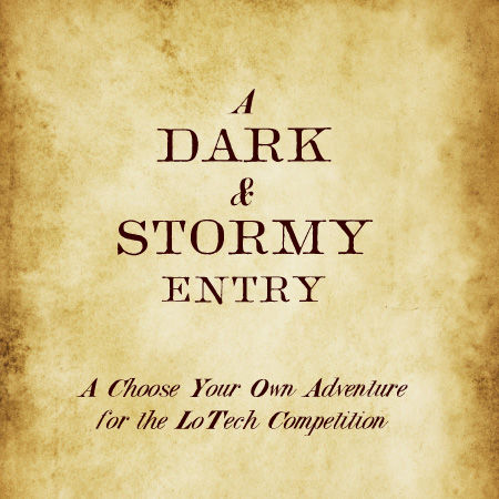 A Dark and Stormy Entry Windows Front Cover