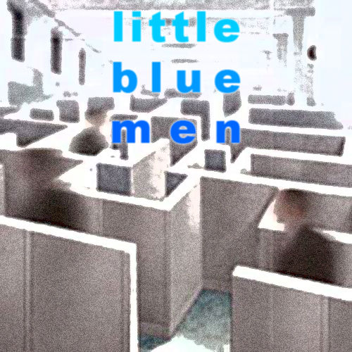 Little Blue Men Browser Front Cover