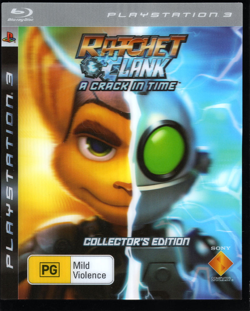 Ratchet & Clank: A Crack in Time (Collector's Edition) PlayStation 3 Front Cover